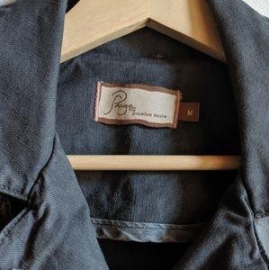 PAIGE Jackets & Coats - PAIGE // gray denim jacket